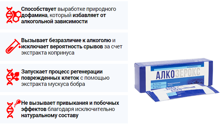принцип действия алкозерокс