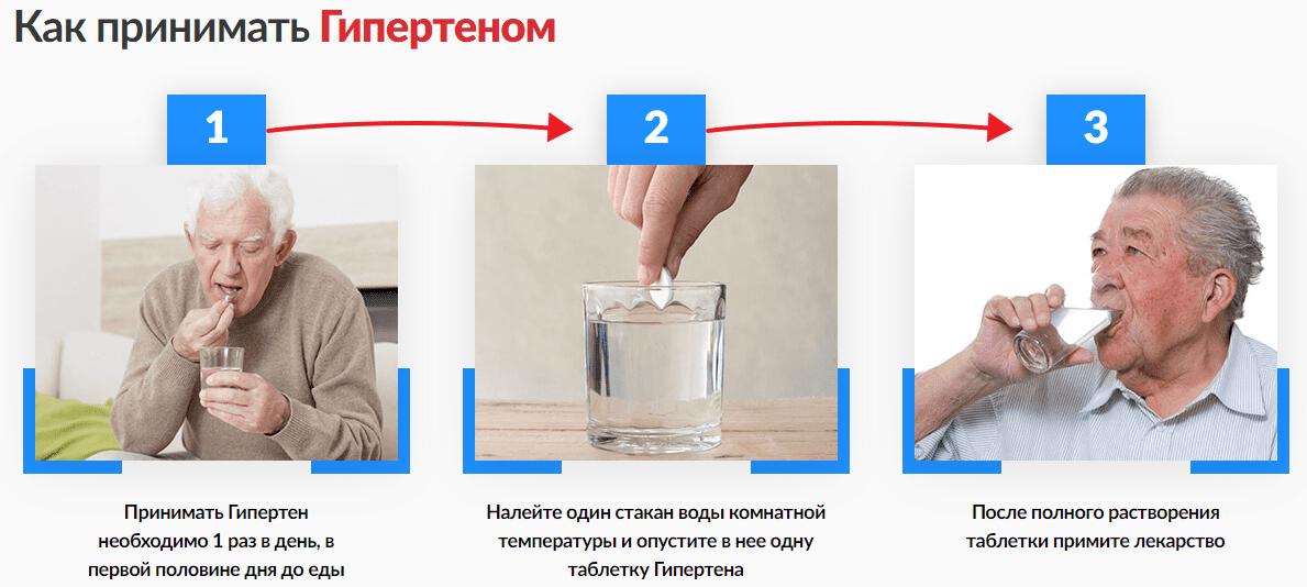 инструкция по применению гипертен