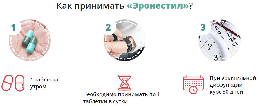 инструкция по применению эронестила