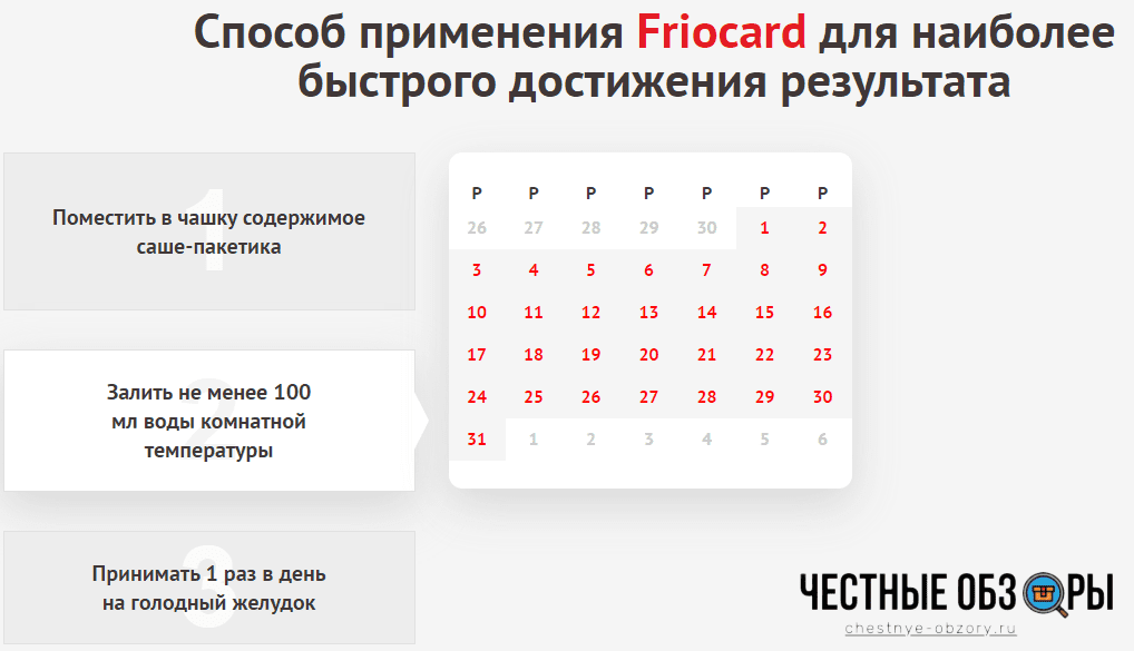 инструкция применения фриокард