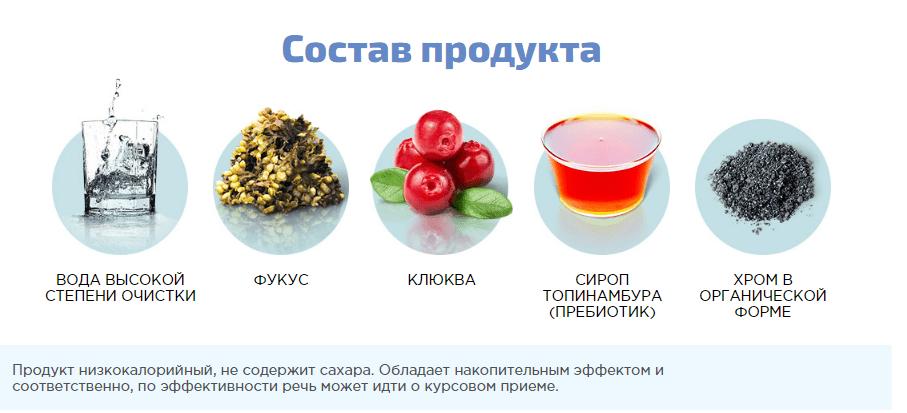 состав продукта диабеталь