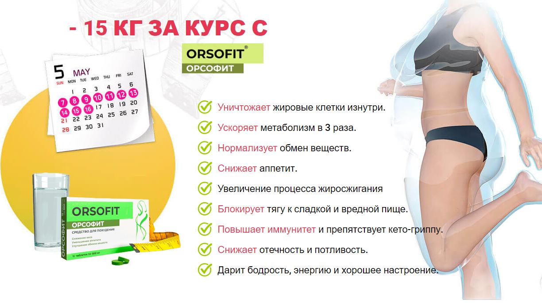 действие таблеток орсофит