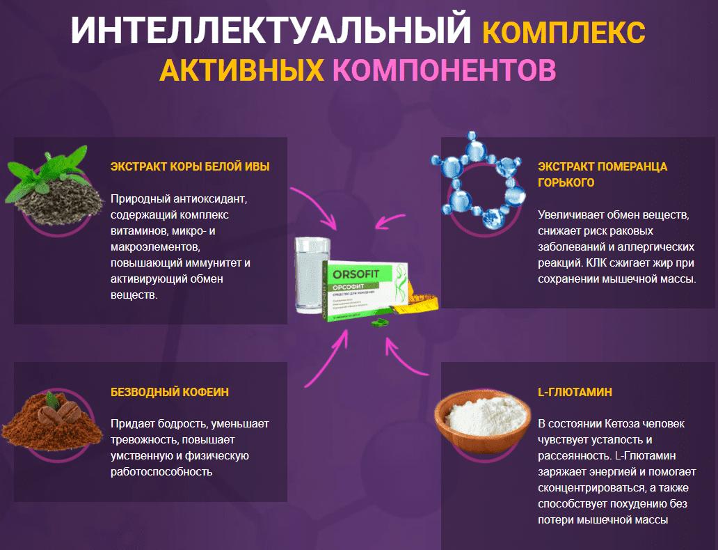 состав орсофита