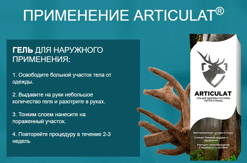 инструкция применения Артикулат