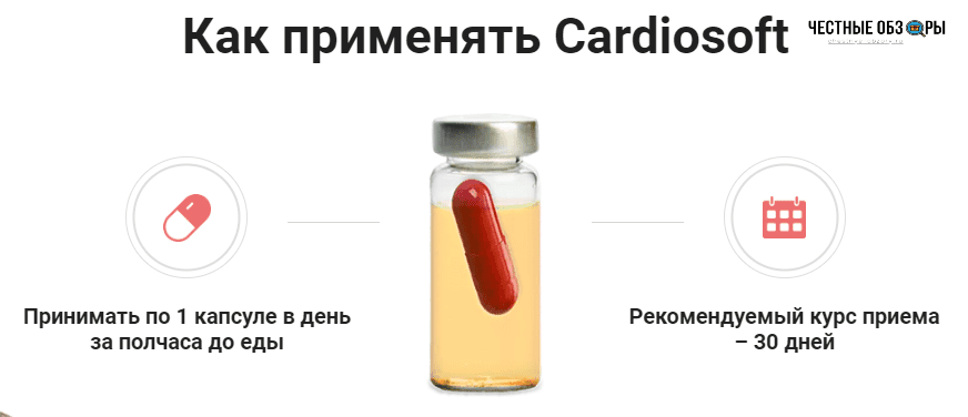 инструкция применения кардиософт